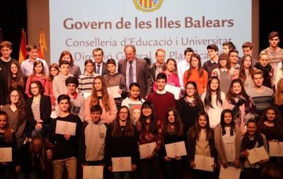 Ganadores premio de excelencia de la ESO!