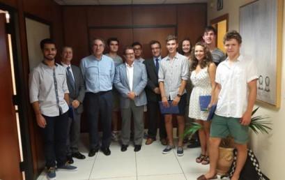 Vicent Agustí Ribas, alumno de nuestro centro, premio de  excelencia en el estudio.