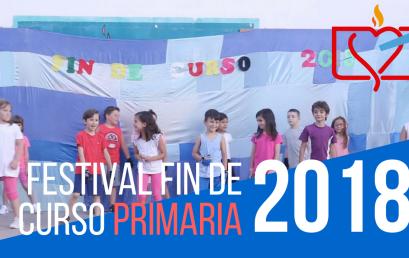 Festival fin de curso Primaria 2018