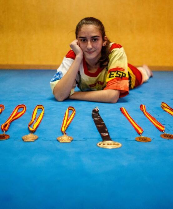 Deu títols de campiona d'Espanya!