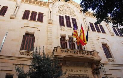 Lliurament dels premis del concurs del Parlament Balear 2021